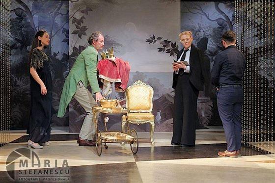 """""""Printul nefericit"""", joi seara, pe scena Teatrului Maria Filotti"""