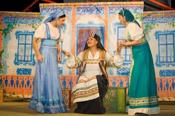 """""""Vaniușa cel viteaz"""" pe scena Teatrului Maria Filotti"""