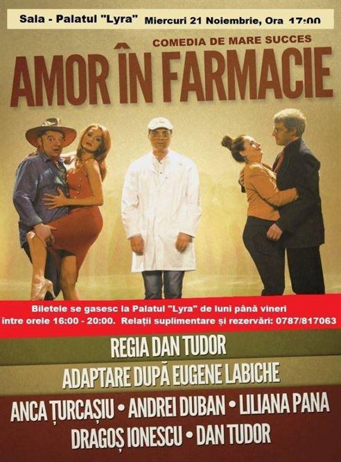 """""""Amor in Farmacie"""", o comedie cu o distribuție de marcă"""