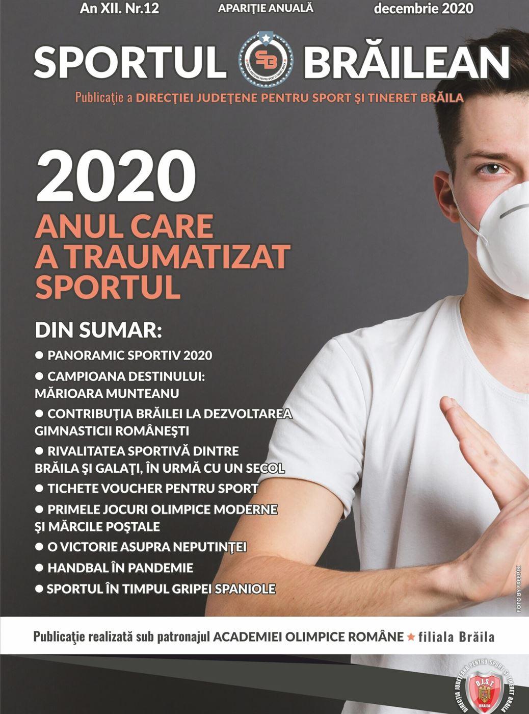 """A apărut numărul 12 al Revistei """"Sportul Brăilean"""" realizat de DJST Brăila"""