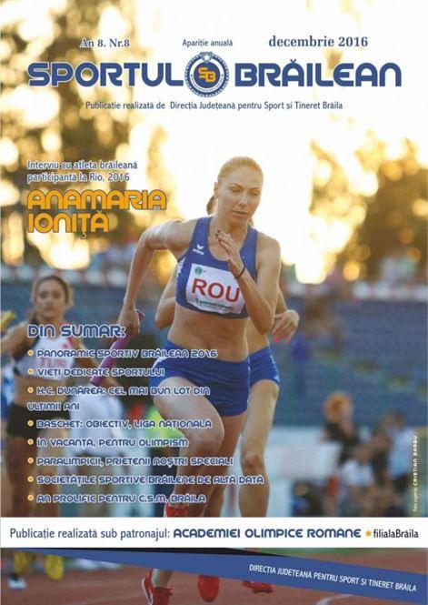 A fost lansat numarul 8 al revistei Sportul Brailean