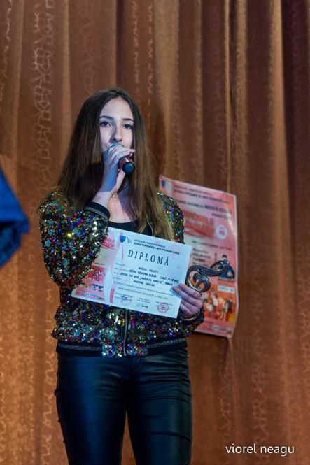 Braileanca Spînu Cosmina Elena a castigat Marele Premiu si Trofeul Armoniile Dunarii