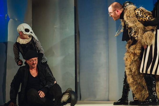 Horatiu Malaele si George Mihaita pe scena Teatrului Maria Filotti