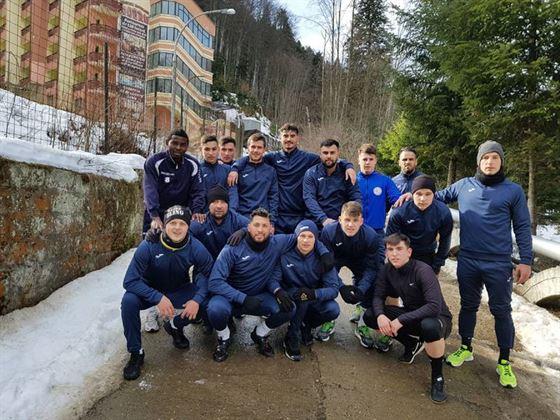 Victorie cu 2-0 pentru Sportul Chiscani, in primul amical jucat in cantonamentul montan