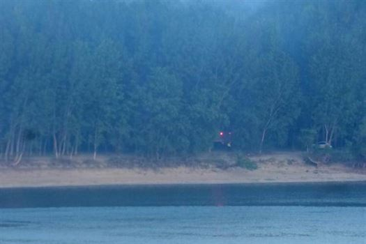 Incendiu de vegetație în Insula Mare. Fum în zona falezei din municipiu