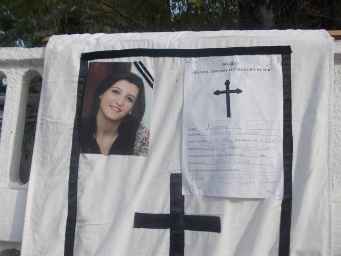 Loredana Danescu a fost adusa in Braila si va fi inmormantata duminica