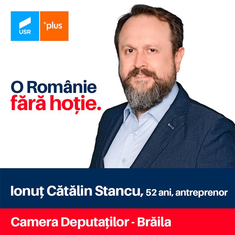 Cătălin Stancu: USR PLUS este singura forță politică din România care poate produce schimbarea