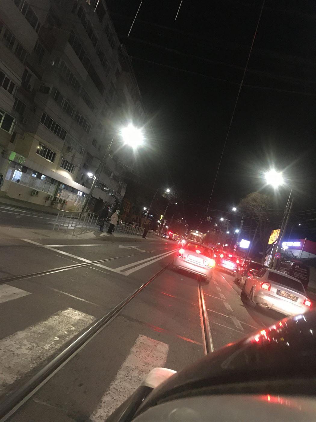 Panică într-un tramvai după ce vatmanului i s-a făcut rău