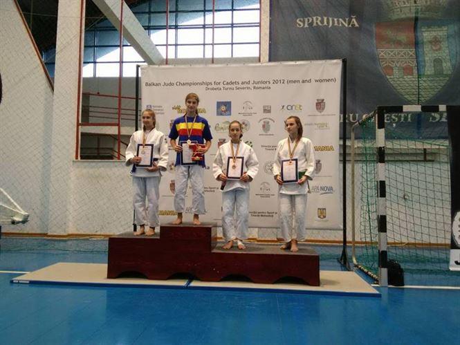 Teodora Naidin medaliata cu bronz la nationalele de judo U16