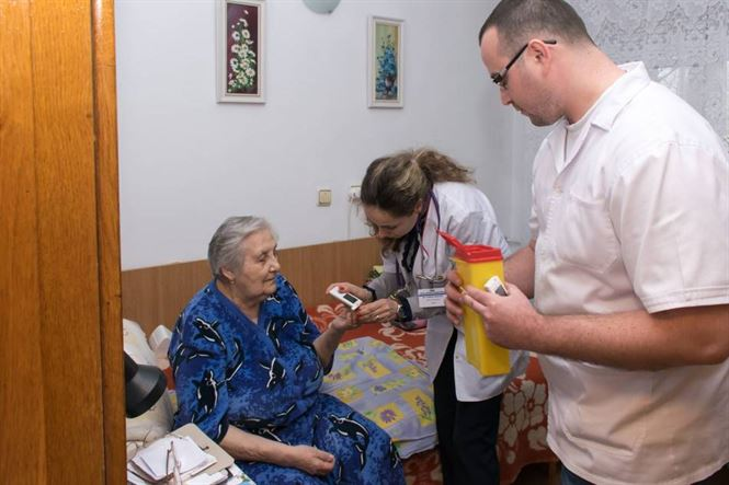 Campanie de informare nutritionala si screening prin testari glicemice