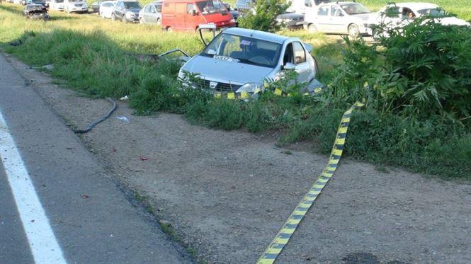 Primarul comunei Tichilești implicat intr-un accident de circulatie