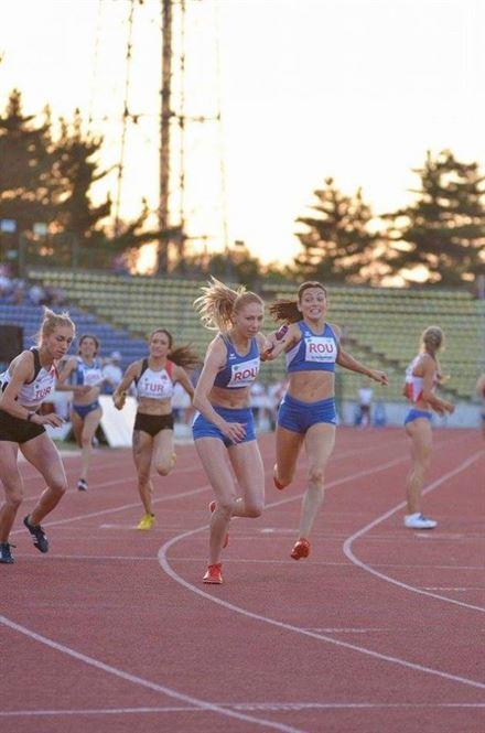 Braileanca Anamaria Ionita, medalie de aur la Campionatele Balcanice de atletism