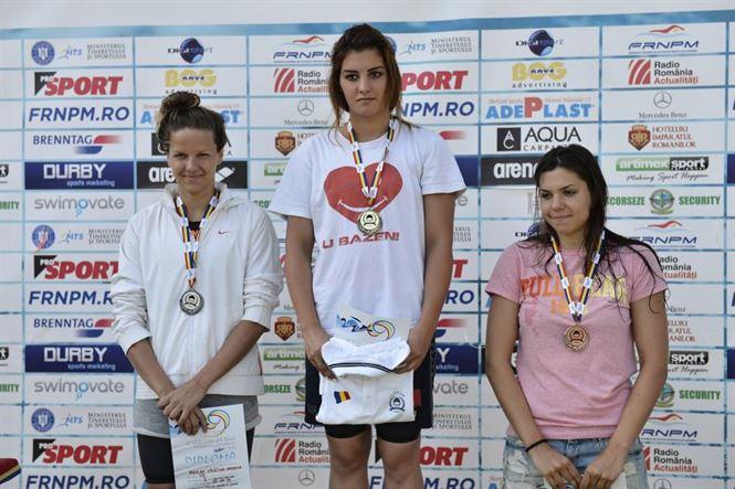 Zece medalii pentru inotul brailean la nationalele de seniori