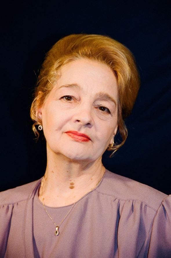 A murit actrița Georgeta Luchian Tudor, născută la Brăila, soția rapsodului Tudor Gheorghe