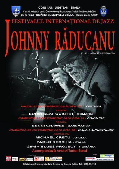 S-au pus in vanzare biletele la Festivalul Johnny Răducanu