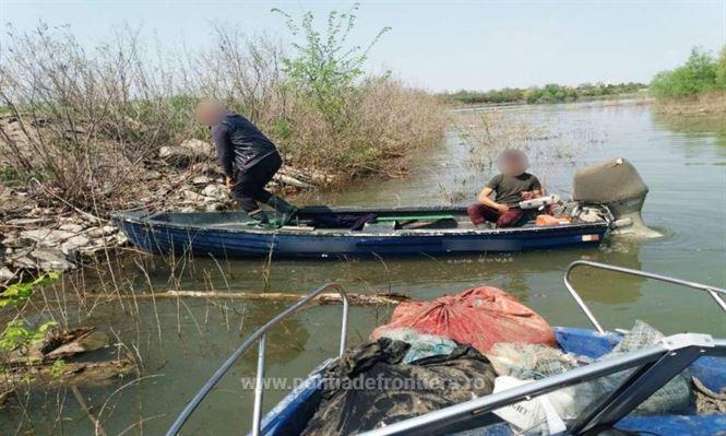 Bunuri de peste 48.000 de lei provenite din infracţiuni de braconaj,indisponibilizate de poliţiştii de frontieră brăileni