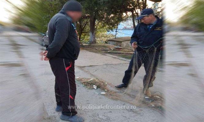 Infracţiuni de braconaj piscicol constatate de poliţiştii de frontieră brăileni