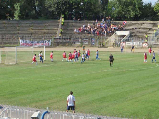 Dacia Unirea Braila spera la al treilea succes consecutiv in Liga a 2-a