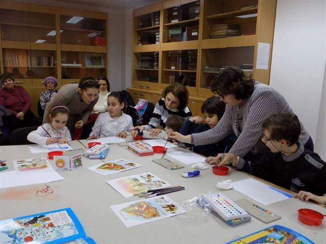 Coloram viata - proiect educational in parteneriat cu Scoala Anton Pann