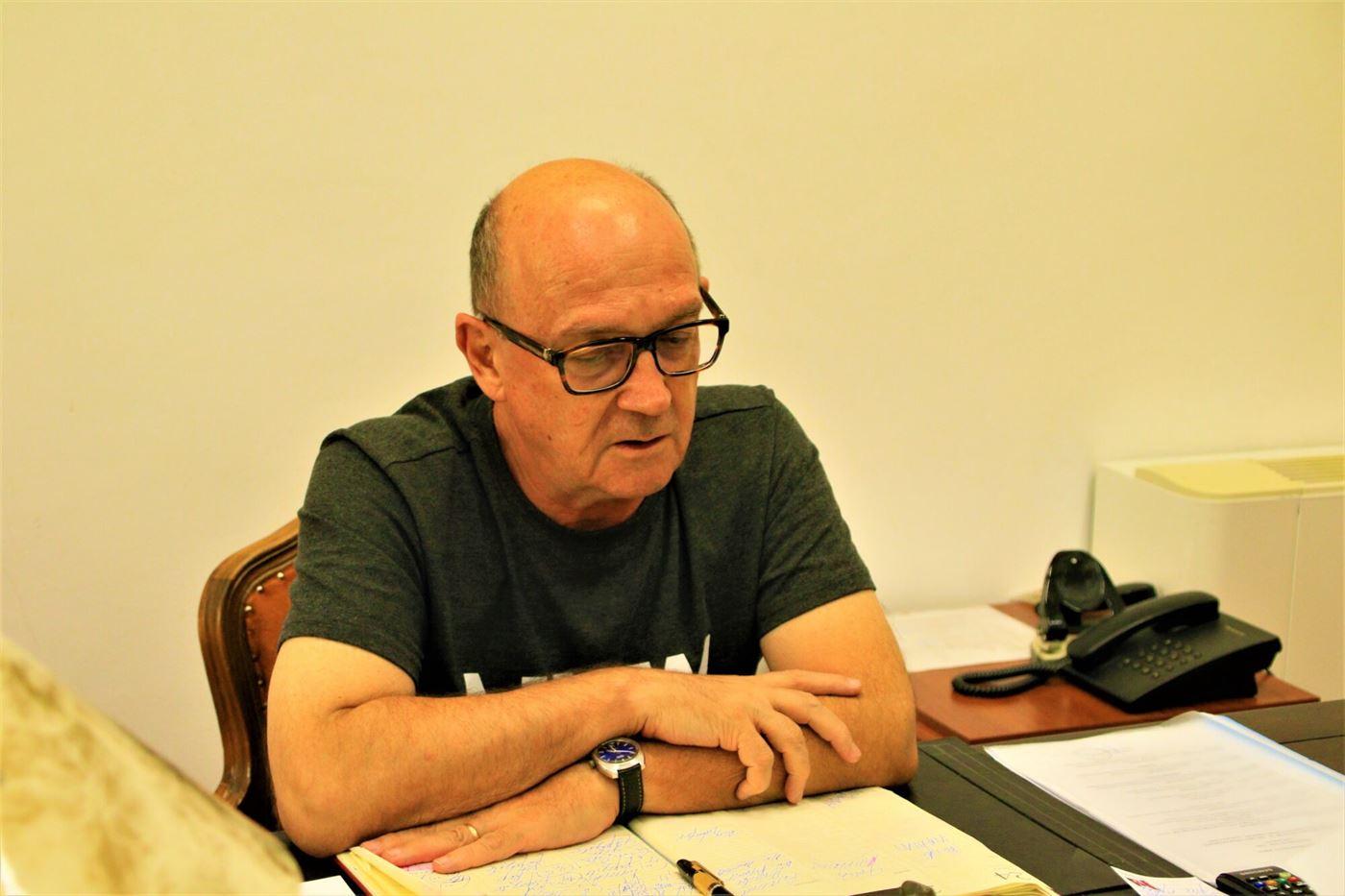 Interviu cu Lucian Sabados, directorul Teatrului Maria Filotti din Brăila