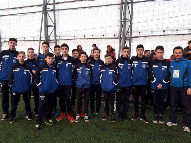 """Juniorii C de la Dacia Unirea Braila medaliati cu bronz la """"Brasov Winter Cup 2017"""""""