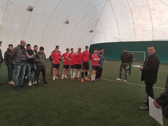 Echipa Liceului G. Valsan din Faurei castigatoarea ONSS la fotbal baieti de liceu – faza judeteana