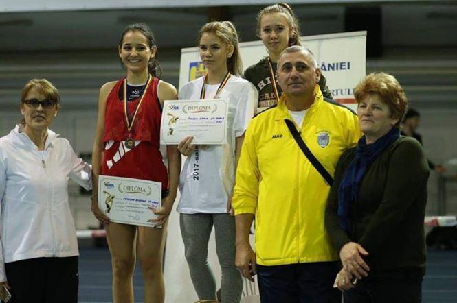 Cinci medalii pentru atletii braileni la nationalele de juniori II