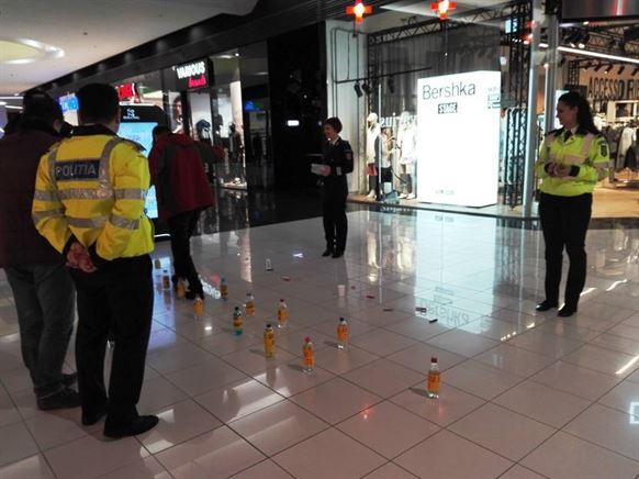 Galerie foto: Siguranta rutiera, tema din ultima zi a saptamanii prevenirii criminalitatii