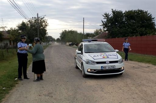 Locuinţele din mediul rural, în atenţia poliţiştilor brăileni