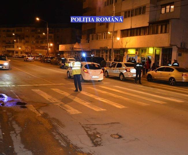 Actiuni ale politiei pe strazile din municipiu si judet