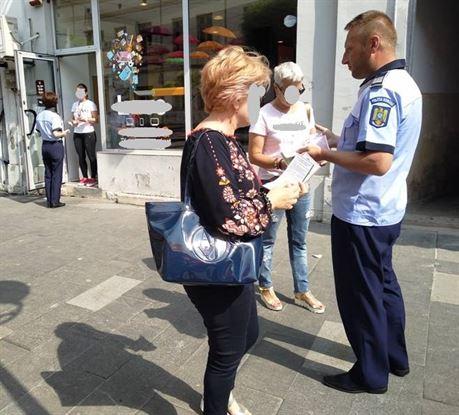 """Hărțuirea stradală abordată de polițiști în """"Săptămâna Prevenirii Criminalității"""""""
