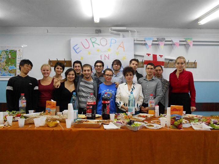 Proiectul Tinklub a adus 3 voluntari straini la Braila