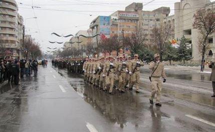 Militarii vor defila pe Calea Calarasilor de Ziua Nationala a Romaniei
