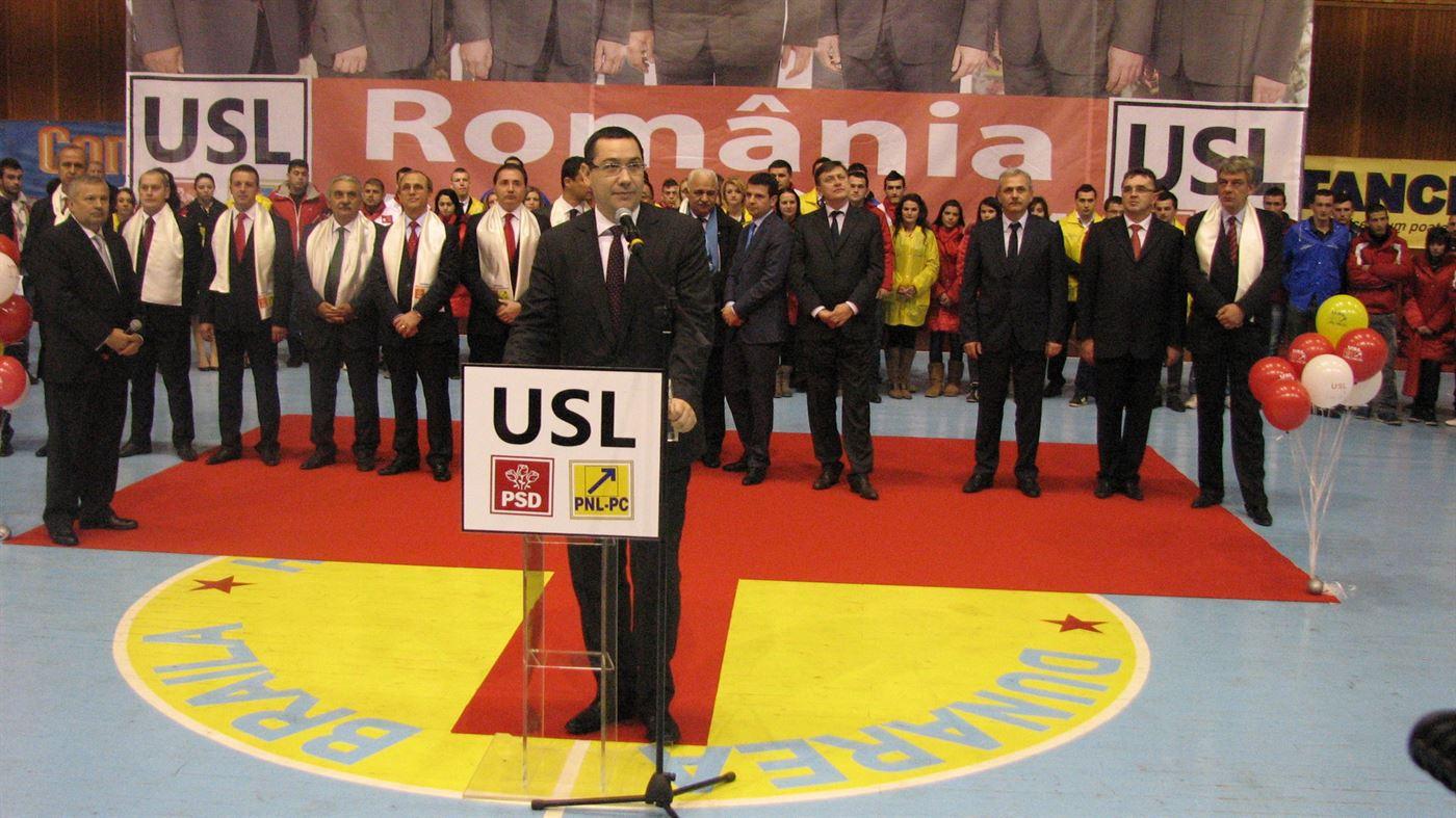 Ponta: Vreau ca pe 9 decembrie, dupa ora 21:00, sa il sarbatorim pe primarul Brailei, domnul Aurel Simionescu