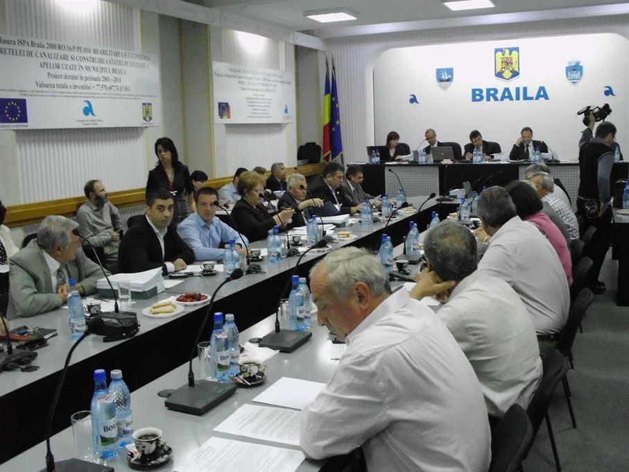 Proiectul ordinii de zi a sedintei Consiliului Local Municipal Braila din data de 22 noiembrie