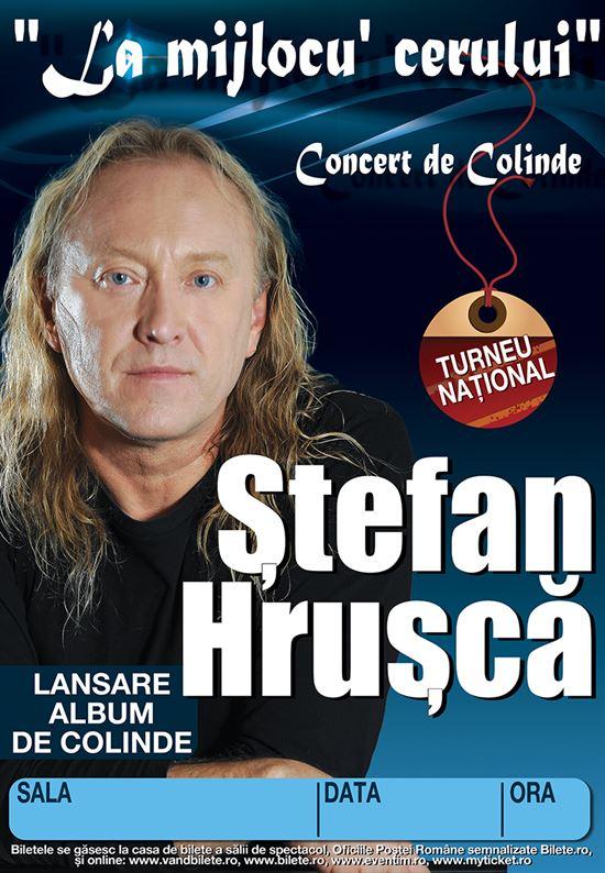 Stefan Hrusca, in concert la Braila dupa o absenta de 15 ani