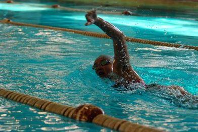 Braileanca Alina Ene, campioana nationala la inot
