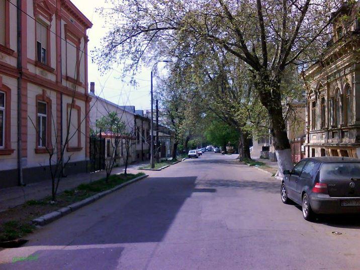 Braila, Strada Golesti (fosta Domnisoara, pana in 1885)