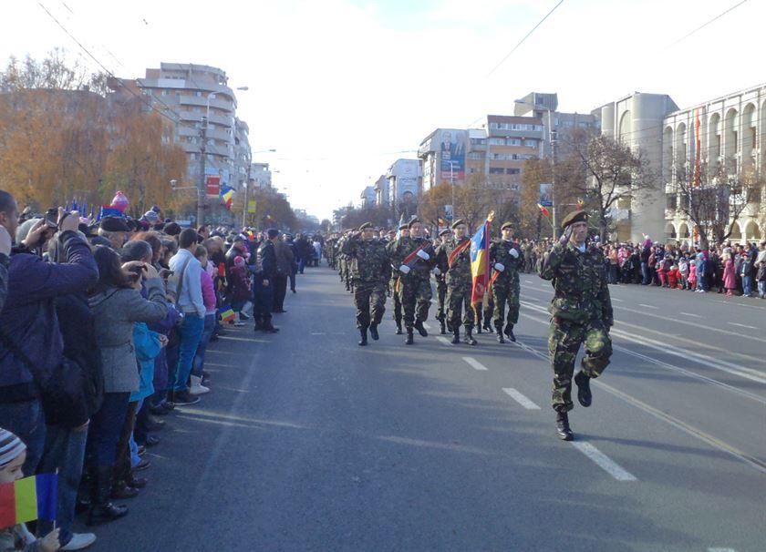Braila, in straie de sarbatoare, de Ziua Nationala a Romanilor, 1 Decembrie