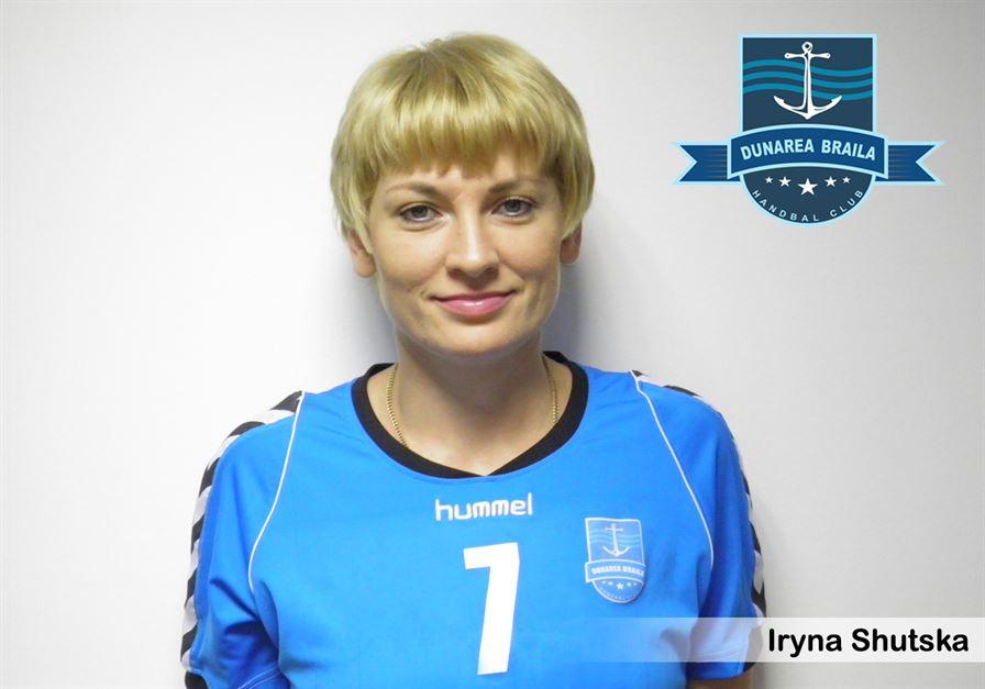 Iryna Shutska, singura jucatoare de la HC Dunarea Braila prezenta la EHF Euro 2012