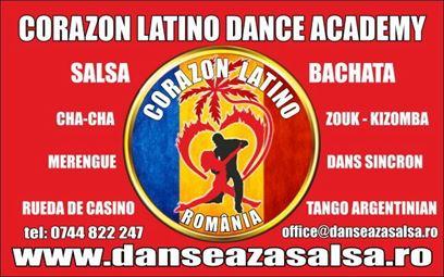 Grupe noi de dans in Braila pentru cursuri de Salsa, Bachata, Tango argentinian si Kizomba
