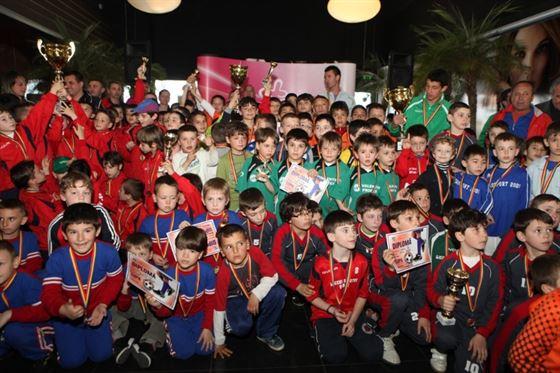 Stars Braila U8, locul 11 la Brasov Indoor Cup 2013
