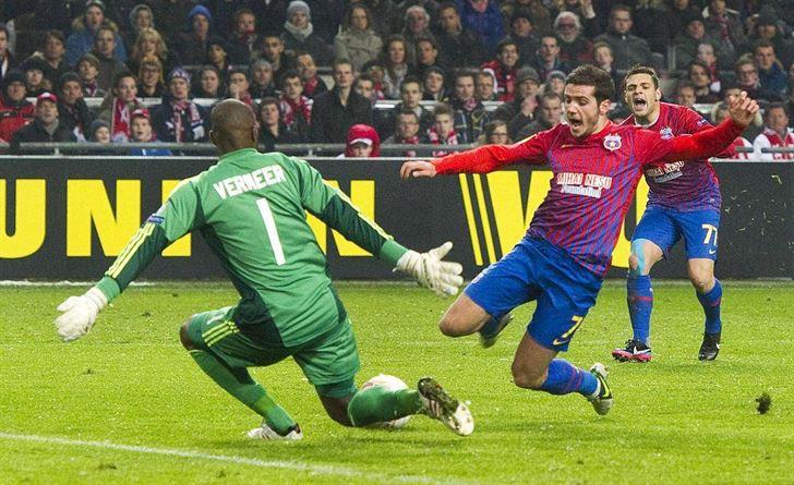 Steaua a intors rezultatul de la Amsterdam