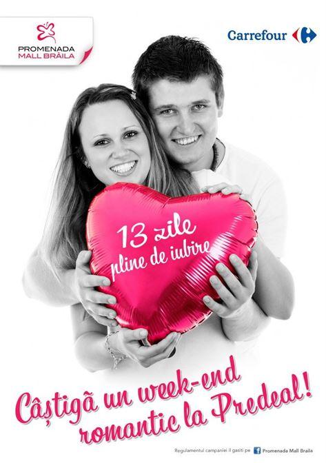 Concurs pentru indragostiti – iata cum puteti castiga un week-end romantic la Predeal