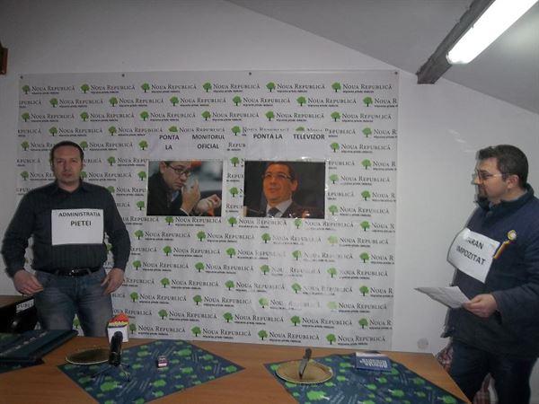 VIDEO: Filiala locala a Partidului Noua Republica este revoltata de introducerea cardului agricol