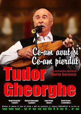 Tudor Gheorghe va concerta pe 5 aprilie la Casa Tineretului din Braila