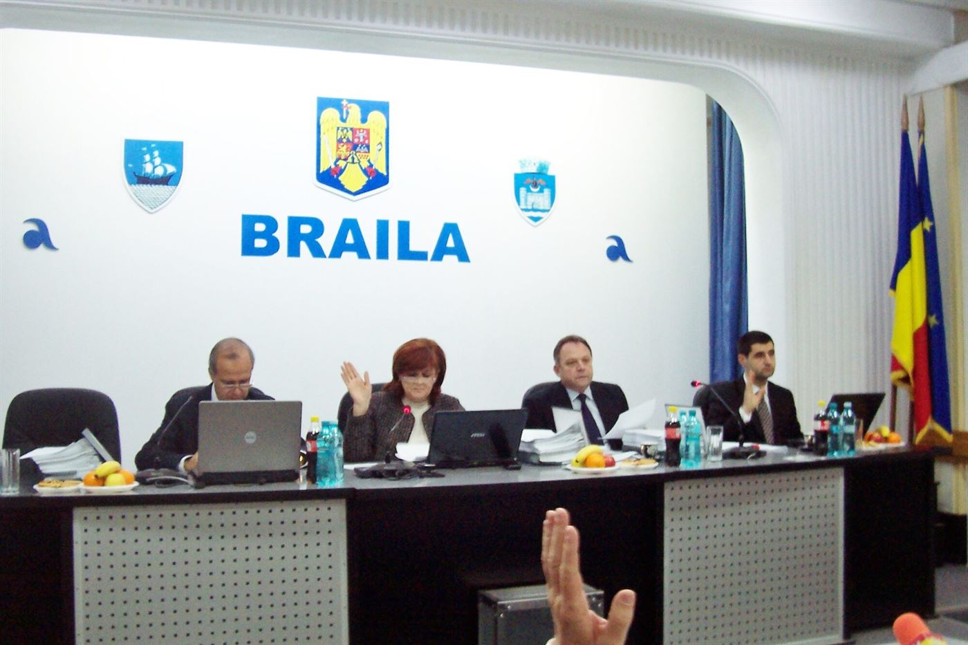 Sedinta Consiliului Local Municipal Braila de maine are 54 de puncte pe ordinea de zi