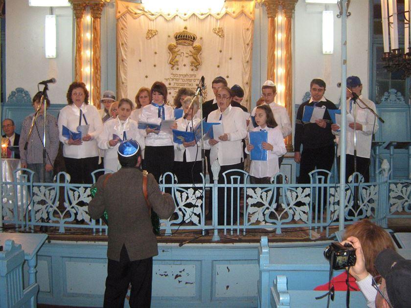 Sinagoga din Braila gazduieste maine concertul unui cor israelian, aflat in turneu in Romania