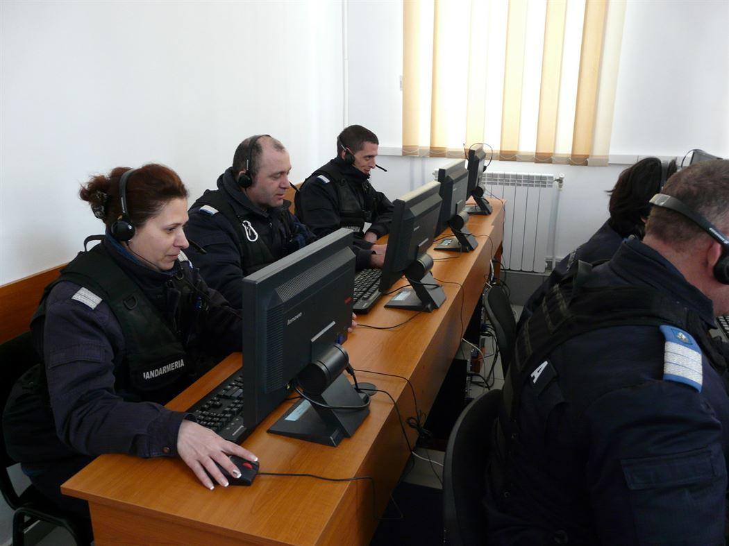 Jandarmeria Braila a fost dotata cu un laborator de instruire eLearning