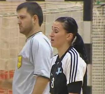 Alina Horjea - 135 goluri pentru HC Dunarea Braila